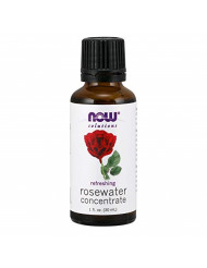 NOW Rosewater Concentrate, 1-Ounce