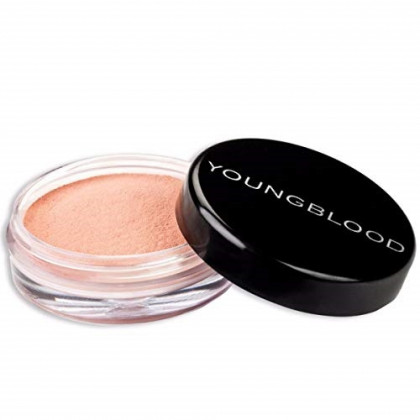 Youngblood Clean Luxury Cosmetics Crushed Mineral Blush, Dusty Pink | Mineral Blush Powder Blush Loose Blush Minerals Blush For Cheeks Powder Noncomedogenic | Cruelty-Free, Paraben-Free