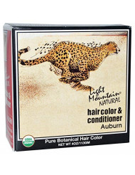 Light Mountain Natural, Hair Color-Auburn, 4 Ounce