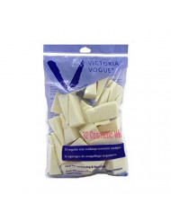 Victoria Vogue Cosmetic Wedges 32 Count Regular Size