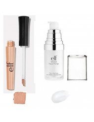 e.l.f. Mineral Infused Face Primer (83401/Clear) e.l.f. Shadow Lock Eyelid Primer (21711) Beauty Kit (2 Packs ) ⭐⭐⭐⭐⭐