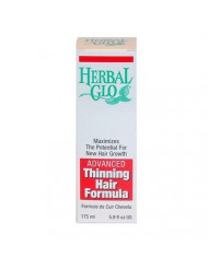 Herbal Glo Thinning Hair Formula - advanced, 5.9 fluid ounces.