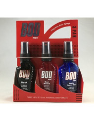 Bod Man Trio Body 1.8 oz Spray Gift Set