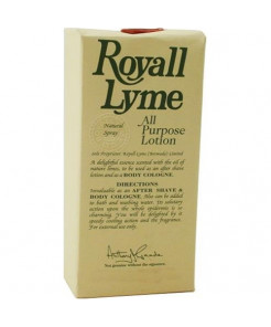 Royall Lyme By Royall Fragrances For Men. Aftershave Lotion Cologne Spray 4 Ounces