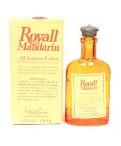 Royall Mandarin by Royall Fragrances for Men - 4 oz Lotion Spray