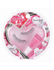 KOJI Spring Heart False Eyelashes, #5 Standard Natural