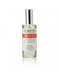 Demeter Unisex Cologne Spray, Sandalwood, 4 Ounce