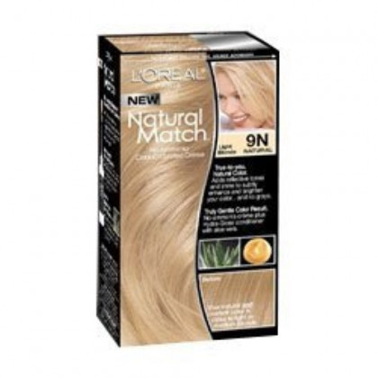 L'Oreal Natural Match Hair Color, 9N Light Blonde
