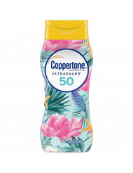 Coppertone ULTRA GUARD Sunscreen Lotion Broad Spectrum SPF 50 (8 Fluid Ounce) (Packaging may vary)
