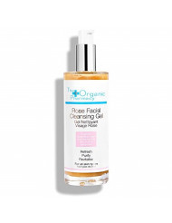 The Organic Pharmacy Rose Facial Cleansing Gel, 3.4 Ounce