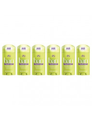 Ban Antiperspirant Deodorant, Invisible Solid, Shower Fresh 2.60 oz (Pack of 6)