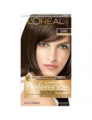 L'Oreal Paris Superior Preference Fade-Defying Color + Shine System, 5 Medium Brown (Packaging May Vary)