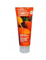 Desert Essence Pumpkin Spice Hand Repair Cream - 4 Fl Ounce - Moisturizes Skin - Even Skin Tone - Jojoba Oil - Pumpkin Seed Oil - Sunflower Seed Oil - Cruelty-Free - No Parabens
