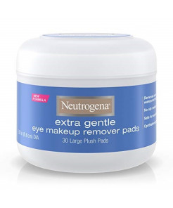 Neutrogena Extra Gentle Eye Makeup Remover Pads, Sensitive Skin 30 Count