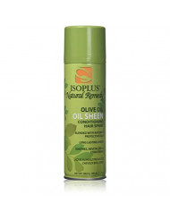 Isoplus Oil Sheen Hairspray Olive Oil, 7 Ounce