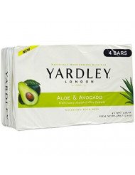 Yardley of London Moisturizing Soap Sweet Summer Aloe and Avocado 3+1