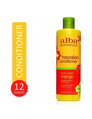 Alba Botanica Body Builder Mango Hawaiian Conditioner, 12 oz.