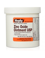 Zinc Oxide Ointment by Rugby - 1 Lb by RUGBY LABORATORIES