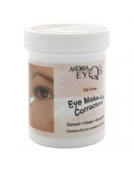 Andrea Eye Q's Oil-Free Make-Up Correctors 50 Pre-Moistened Swabs