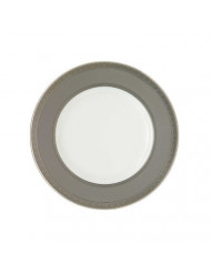 Waterford China New Grange Platinum 9-inch Accent Plate