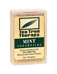 Tea Tree Therapy, Toothpicks, 100 ct