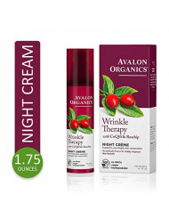 Avalon Organics Wrinkle Therapy Night Creme, 1.75 oz.