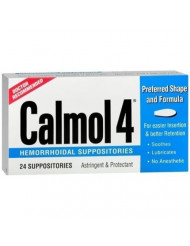 Calmol 4 Suppositories 24 (3 Pack) [Health and Beauty]