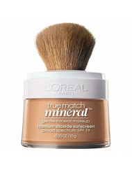 L'Oreal True Match Mineral Foundation, Sun Beige [468], 0.35 oz (Pack of 2)