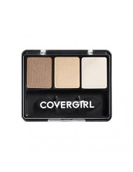 CoverGirl Eye Enhancers 3 Kit Shadow, Cafe Au Lait, 0.14 Ounce Package