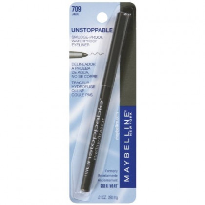 Maybelline New York Unstoppable Eyeliner Carded, Jade, 0.01 Ounce
