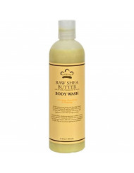 Nubian Heritage Body Wash Raw Shea Butter With Soy Milk & Vitamin E - 13 Oz