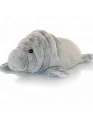 Sootheze Manatee Aromatherapy Scented Stuffed Animal Toy - Therapeutic Microwavable Heating Pad-Hot Cold Therapy Weighted Pad