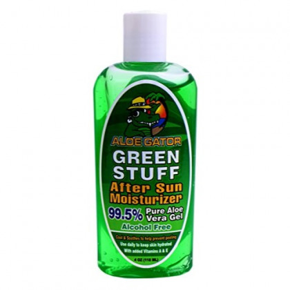 Aloe Gator Green Stuff After Sun Moisturizer, 4 Ounce