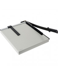 """Dahle 18e Vantage Paper Trimmer, 18"""" Cut Length, 15 Sheet, Automatic Clamp, Adjustable Guide, Metal Base with 1/2"""" Gridlines, Guillotine Paper Cutter - 40018-12568"""