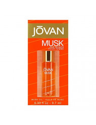 Jovan Musk By Jovan For Women Perfume Oil 0.33 Ounce, Classic Sensual Musk for Women Notes of Jasmine and Bergamot