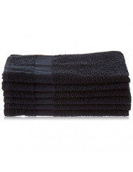 Fromm Colorsafe Towel, Black, 6 Count