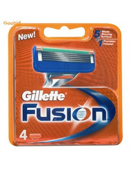 Gillette Fusion Blades 4 Cartridges