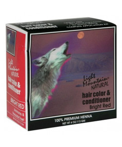 Henna Bright Red Pwd 4oz 4 Ounces