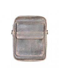 Scully Squadron Travel/Passport Shoulder Tote Antique Brown One Size