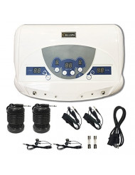 Cell Spa, Dual Ionic Ion Detox Aqua Foot Spa Chi Cleanse Machine with Mp3 Music Player