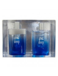 Deep Cool Water GIFT 2 pieces By Davidoff 3.4 oz EDT Spray, 3.4 oz After Shave MEN