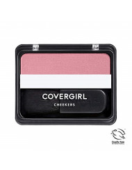 COVERGIRL Cheekers Blendable Powder Blush, Classic Pink, 1 Count (packaging may vary)