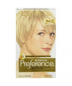 L'Oreal Preference #9.5A Extra-Light Ash Blonde, 1 ct