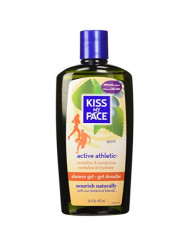 Kiss My Face Shower Gel, Active Athletic - 16 oz