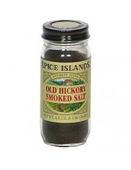 Spice Island Old Hickory Smoked Salt, 4.8-Ounce Jars (Pack of 3)