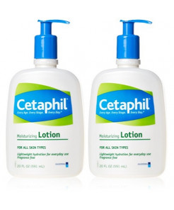 Cetaphil Moisturizing Lotion 20 oz 2 pack
