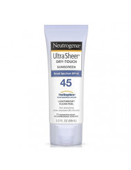 Neutrogena Ultra Sheer Dry-Touch Sunscreen SPF 45, 3 Fl Oz