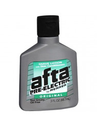 Afta Pre-Electric Shave Lotion With Skin Conditioners Original 3 oz