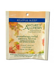 Nature's Alchemy Restful Sleep Aromatherapy Herbal Mineral Baths, 3 Ounce
