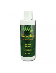 Neem Hand Body Lotion Neem Aura 8 oz Lotion